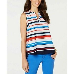 Charter Club Blouse Striped S New
